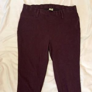 Faded Glory purple jeggings